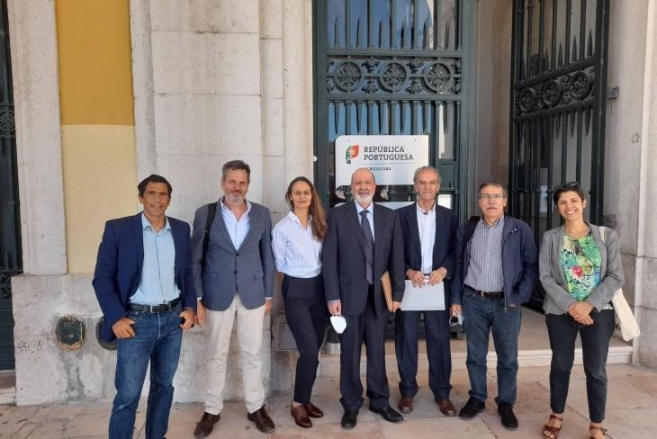 Coligação Cívica – Participar no PEPAC reúne com Ministra da Agricultura