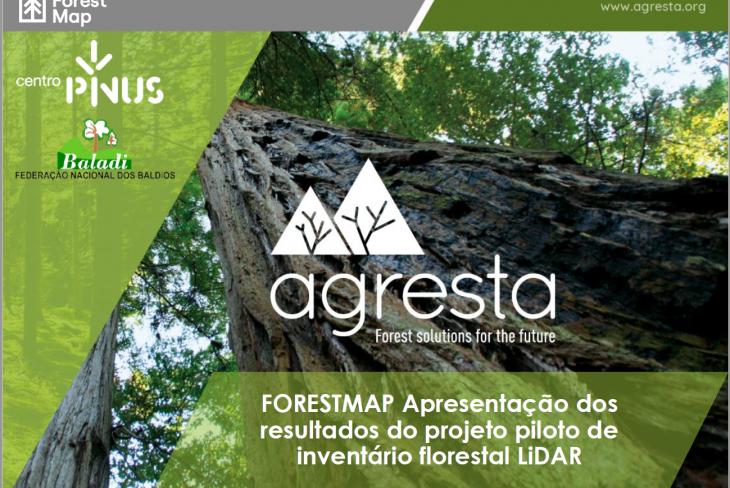 Projeto piloto de Inventário Florestal com LiDAR